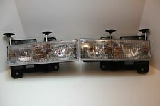 CHEVY PICKUP HEAD LIGHTS HEADLIGHTS 1990 1991 1992 1993 1994 1995 1996 1997