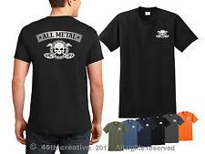 Metal Detecting T-shirt  all metal detector shirt beach coin finding skull shirt