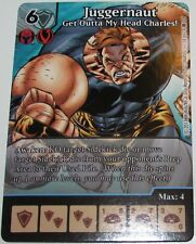 JUGGERNAUT #18 The Brotherhood Marvel Dice Masters Monthly full art OP