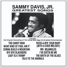 SAMMY DAVIS JR : GREATEST SONGS  (CD) Sealed