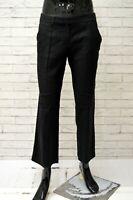 Pantalone Uomo ICEBERG Taglia 48 Jeans Pants Classico Cotone Lana Nero Regular