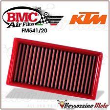 FILTRE À AIR SPORTIF LAVABLE BMC FM541/20 KTM 690 DUKE R 2012 2013 2014 2015