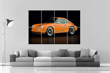 PORCHE 911 CLASSIC   Wall Art Poster Grand format A0 Large Print