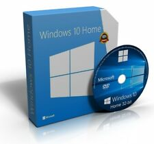 Windows 10 Home 32 Bit Re-Install Restore Repair Recovery Boot Disc Recovery DVD