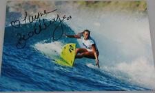 LANE BEACHLEY Hand Signed 8' x 12' Photo