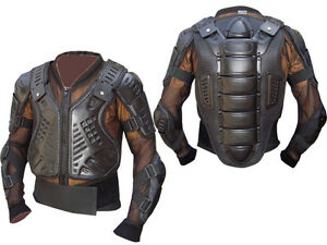 Men's Motocross Motorbike CE Armoured Spine Elbow Arms Protection Riding Jacket