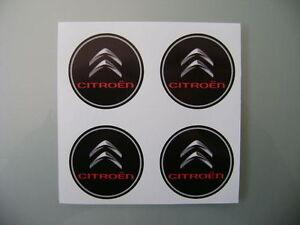 4x 45 mm fits citroen wheel STICKERS center badge centre trim cap hub  alloy