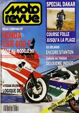 MOTO REVUE 2975 HONDA CBR 600 F PARIS TRIPOLI DAKAR 1991 (1)