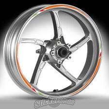 Adesivi ruote moto per KTM 690 DUKE - strisce RACING 7 cerchi stickers