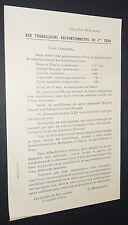 POLITIQUE ELECTIONS LEGISLATIVES 1932 TRACT COMMUNISTE POUR THOREZ IVRY
