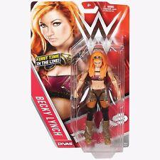 WWE becky lynch divas série 62 basic superstar action MATTEL wrestling figure