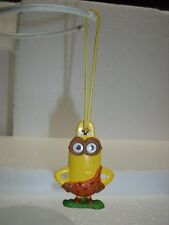 Dispicable Me Minions Caveman Christmas Tree ornament General Mills toy figure