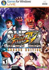 Super Street Fighter IV Arcade Edition PC New Windows XP, Windows Me, Windows