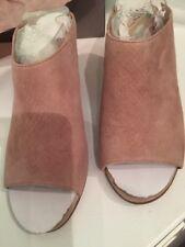 Women's Sandal Size 6 M Franco Sarto L-Firefly Heeled Taupe Snake