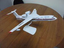 Модель самолета-амфибии Бе-200 Россия 1/100 модель, ручная работа