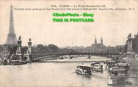 R411309 550. Paris. Le Pont Alexandre III. Premiere pierre posee par le Tsar Nic