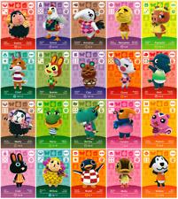 Animal Crossing/amiibo Karten/Serie 1/Nr. 001-100/EU-Version/NEU/ORIGINAL/RAR