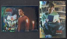 ALBUM BINDER PROMO CARD SET: DEXTER SEASONS 1 & 2 (BREYGENT/2009) 1 & 2