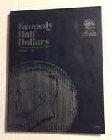 KENNEDY HALF DOLLARS (1986-????) #9698 COIN FOLDER BY WHITMAN-NEW OLD STOCK