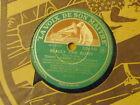 Disque 78 tours La voix de son maître Tommy Ladnier Realy the blues/When you