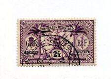 NEW HEBRIDES FR 1913 2f violet fu. SG F31. Cat £50