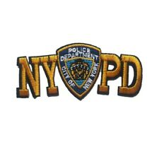 City Of New York Police Department Iron On Patch Sew on Transfer NYPD NY Police