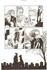 Establishment #8 p.15 Mr. Pharmacist 'Walking Dead' Artist '02 by Charlie Adlard Comic Art