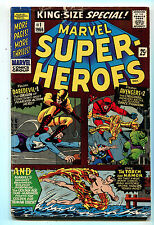 Marvel Super Heroes #1 VG The Tourch And Namor Space Phantom Marvel Comics CBX5A