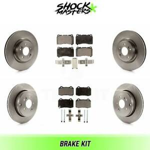 Front Pair Ceramic Brake Pads for Caddy ATS STS GT500 G8 Genesis Coupe