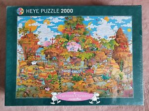 Puzzle 2000, Heye, Train, Mordillo