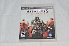 Assassin's Creed II (Sony PlayStation 3, 2009) Brand New Factory Sealed