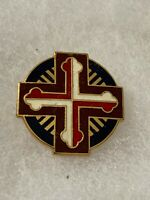 Authentic US Army 100th Station Hospital Unit DI DUI Crest Insignia G23