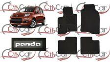 Fiat Panda MK II 2006-2012 Totalmente a Medida Coche De 4 piezas de goma Mat Set no Clips