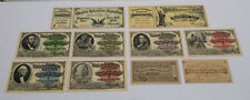 1893 Chicago World's Columbian Exposition  Ticket Collection of 10