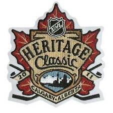 2011 HERITAGE CLASSIC OFFICIAL PATCH MONTREAL CANADIENS VS CALGARY FLAMES