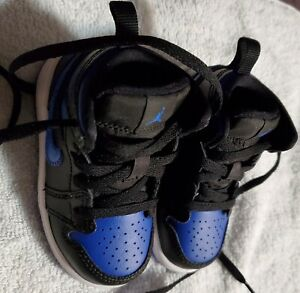 Jordan's; Royal Blue, Black and White Jordan 4 C's