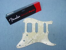 GENUINE FENDER FAT STRAT AGED WHITE MOTO PEARL HSS 4-PLY PICKGUARD STRATOCASTER