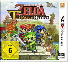 + + THE LEGEND OF ZELDA: Tri Force Heroes NINTENDO 3 DS (2 Ds) DT. Top + +
