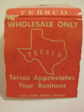 TERSCO WHOLESALE ONLY FT WORTH,WACO,ABILENE,SAN ANGELO, ARLINGTON, DALLAS TX