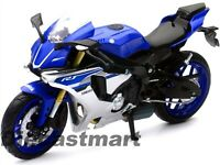 NEWRAY 1:12 2015 YAMAHA YZF R1 DIECAST MOTORCYCLE BLUE 57803A NEW IN BOX