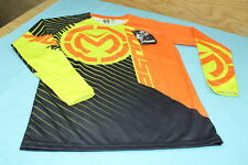 MOOSE RACING YOUTH S18 QUALIFIER JERSEY,OR/HV,SIZE L ( 2912-1575 ) (REP.SAMPLE)