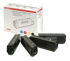 4 Original OKI Toner C5250 C5450 C5510 C5540/42127457 42127456 42127455 42127454