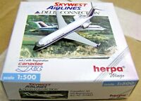 Herpa Wings 1:500 511803 SKYWEST AIRLINES DELTA CONNECTION Canadair Jet N413SW