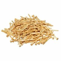 300-Pack Height Bamboo Golf Tees, Biodegradable Unbreakable Golf Tee, 2-3/4""