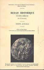 Seine et Marne. Rebais historique, bien illustré.