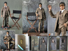 """Hot Toys 1/6 Bruce Lee In 70's Suit Version Action Figure Collection NIB 12"""""""