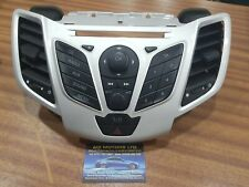 MK7 Ford Fiesta CD Stereo Radio Control Buttons Vents Surround Trim Silver 09-12