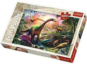Trefl Dinosaurs Jigsaw Puzzle 100 Pieces 5+ Kids Gift Game