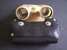 Vintage Binoculars 2.5 X Opera Soviet Russian USSR Theater Ballet Glasses + Case