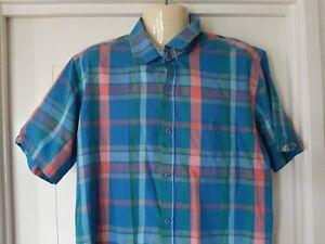 mens Concept Casual Shirt, Plaid / Check, Size XL, Cotton / Poly